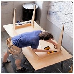 Сборка столов по низким ценам в Архангельске от специалистов
