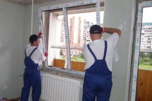 Установка пластиковых окон в Архангельске